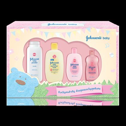 JOHNSON'S®baby gentle care keepsake gift set