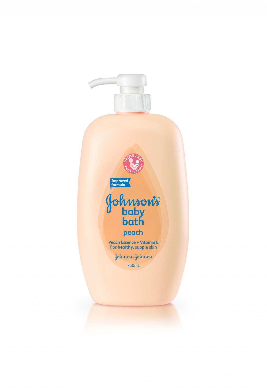 Johnson's ® PeachBath