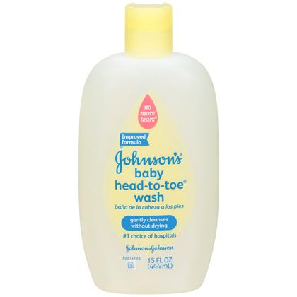 JOHNSON'S®baby HEAD-TO-TOE®Wash